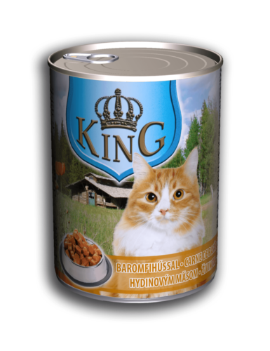 King Cat 415g Baromfi
