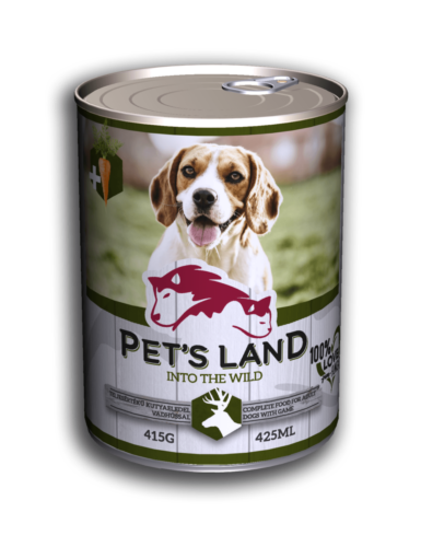 PL petsland dog 415g game