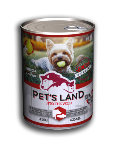 PL petsland dog 415g pork-fish-sport