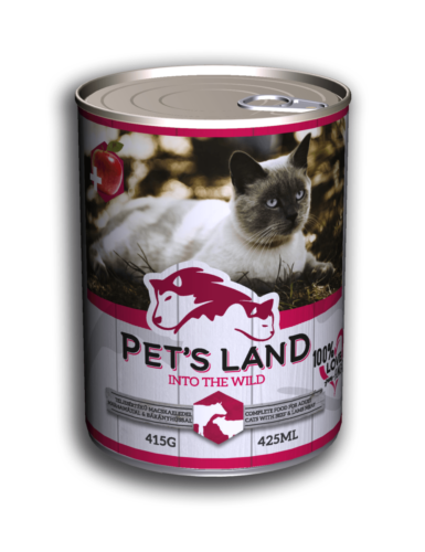 PL petsland cat 415g beef-lamb