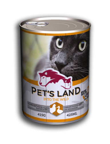 PL petsland cat 415g poultry